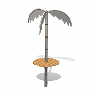 """""""Palm Tree with Table"""" (Order-No.: 4.0110-E)"""