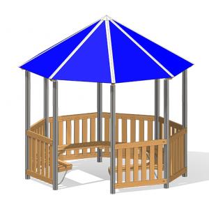 """Pavilion Holzkirchen"" (Order-No.: 4.0211-E)"