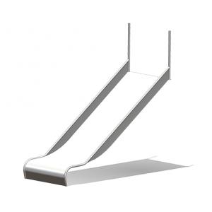 """""""Spiel-Bau Slide, Box shaped, Width = 100 cm"""" (Order-No.: 5.4066)"""