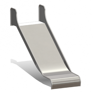 """""""Attachable Slide, Box Shaped, Width = 100 cm"""" (Order-No.: 5.4070)"""