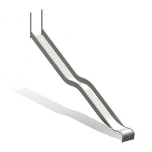 """""""Spiel-Bau Wave Slide, Width = 50 cm"""" (Order-No.: 5.4075)"""