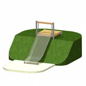 """Slide Platform, Large"" (Order-No.: 5.5055-E)"