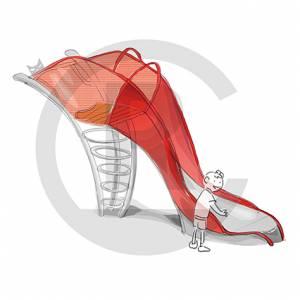 """Slide """"High Heel"""" (Order-No.: 5S-170615-41)"""