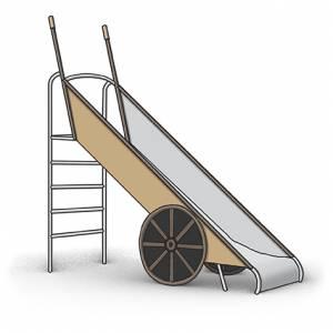 """Slide Wheelbarrow"" (Order-No.: 5S-180919-02)"