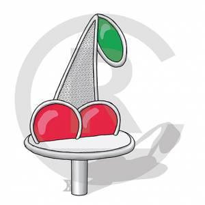 "Spinner ""Cherry"" (Order-No.: 6S-170706-01)"