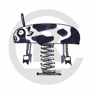 """Spring Rider """"Cow Milky"""" (Order-No.: 6S-160330-95)"""