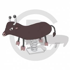 """Spring Rider """"Bull"""" (Order-No.: 6S-170616-05)"""