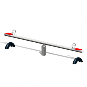 """""""Stainless steel Seesaw, 2 seats"""" (Order-No.: 6.5005-E)"""