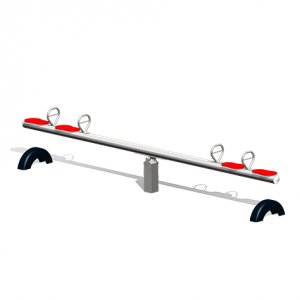 """""""Stainless Steel Seesaw, 4 seats"""" (Order-No.: 6.5006-E)"""