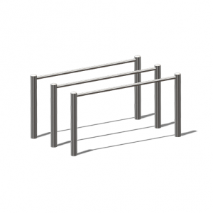 """""""Parallel Bars, Double"""" (Order-No.: 7.6010-170403-22)"""