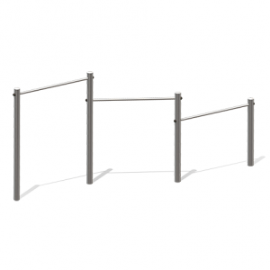 """Horizontal Bar, Triple"" (Order-No.: 7.6020-110-150-190-E)"