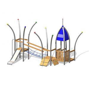 """""""Spielhaus Raketchen 2"""" (Best.-Nr.: 8.0065-E)"""