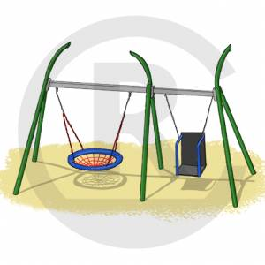"""Grass Swing Combination Hannover"" (Order-No.: 6S-181220-10-VF)"