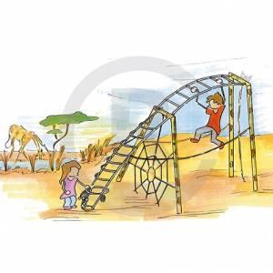 """""""Climbing Giraffe"""" (Order-No.: 7S-150106-41-VF)"""