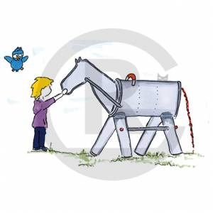 """Play Horse Silver"" (Order-No.: SK-140325-43)"