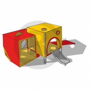 """Cubic-Play House"" (Order-No.: SK-160722-92)"