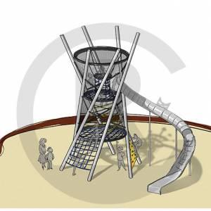 """Play Tower """"FZA Heerdt"""" (Order-No.: SK-170717-91)"""