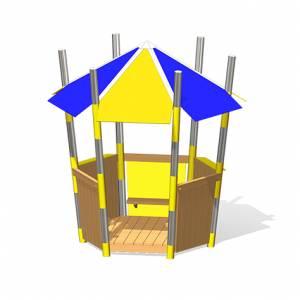 """Mikado-Pavillon"" (Best.-Nr.: 1.0051.5-EM)"