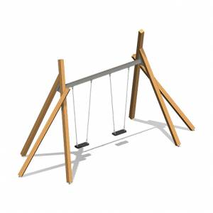 """squared timber swing, double"" (Order-No.: 2.2670)"