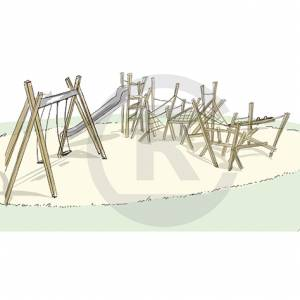 """Climbing Structure """"Ludwig"""" (Order-No.: 2S-160721-41)"""