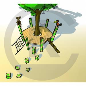 "Play Platform ""Goerlitz"" (Order-No.: 2S-161025-94)"