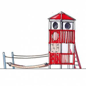"Leuchtturm ""Wendorf Möwe"" (Best.-Nr.: 2.0010-160303-91)"