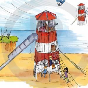"""Lighthouse """"Grossraeschen"""" (Order-No.: 2S-150603-41)"""