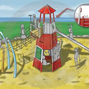 "Lighthouse ""Wendorf IV"" (Order-No.: 2S-160503-99)"