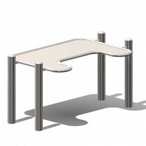 "Inclusive - ""Mud Table 2, wheelchair accessible"" (Order-No.: 3.3035-E-E)"