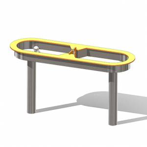 """Splash Table, Inclusive"" (Order-No.: 3.3177-200907-26)"