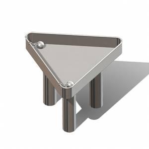 """Mud Table, Triangular"" (Order-No.: 3.3185-E-E)"