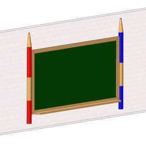 """Wall Black Board"" (Order-No.: 3.3305)"