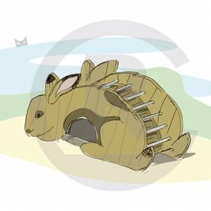 """Rabbit-Arch"" (Order-No.: 3S-160825-41)"