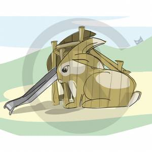 """Rabbit-Slide"" (Order-No.: 3S-160825-46)"