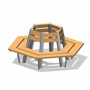 """Tree Seat, hexagonal"" (Order-No.: 4.0070-E)"