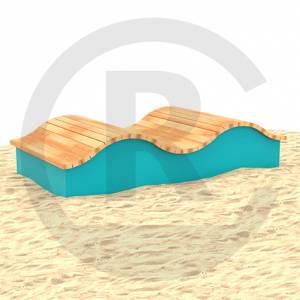"""""""Wave bench Dormagen"""" (Order-No.: 4S-190924-01)"""