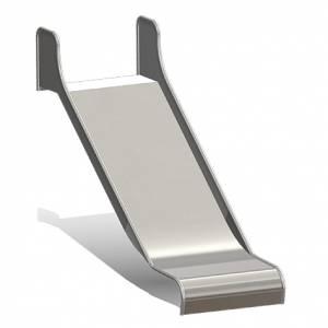 Anbau-Kastenrutsche mit Einsitz, B=100 cm (Best.-Nr.: 5.4070)