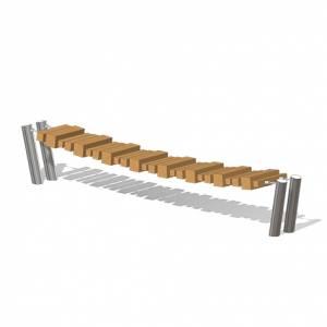 """Balance Bridge, type 2"", L = 3m (Order-No.: 6.5510-E)"