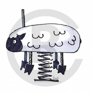 """Spring Rider """"Sheep Maeh"""" (Order-No.: 6S-160330-93)"""