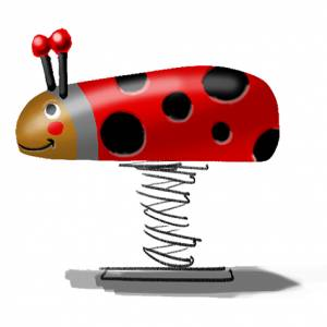 "Spring Rider ""Beetle"" (Order-No.: 6S-160427-91)"