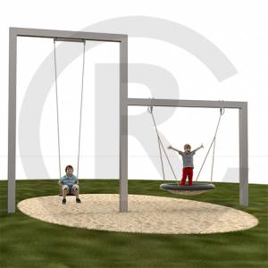 """Swing Gate Combination, Single+Nest 400"" (Order-No.: 6.5151-200904-05)"