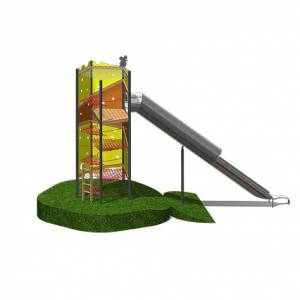 "Slide tower ""Cheese Stick II"" (Order-No.: SK-161115-92-330)"