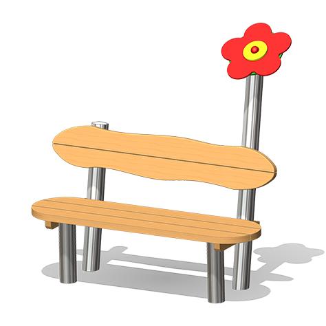 """Flower Bench"" (Order-No.: 4.0080)"