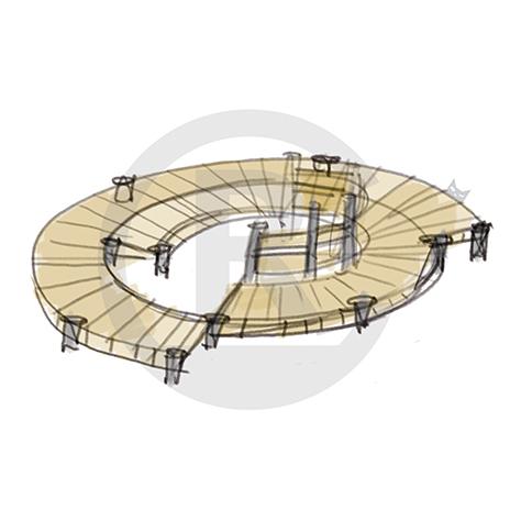 "Seating Arrangement ""Circle I"" (Order-No.: 4S-160622-41)"