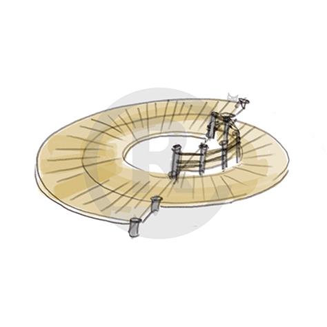 "Seating Arrangement ""Circle III"" (Order-No.: 4S-160622-43)"