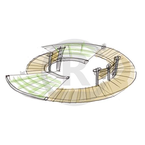 """Seating Arrangement """"Circle IV"""" (Order-No.: 4S-160622-44)"""