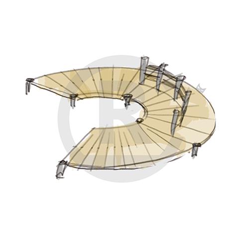 "Seating Arrangement ""Circle V"" (Order-No.: 4S-160622-45)"