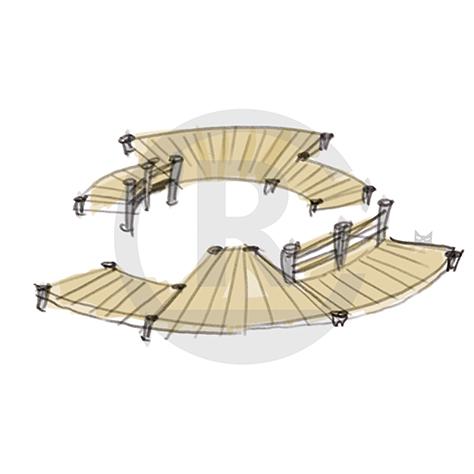 "Seating Arrangement ""Circle VI"" (Order-No.: 4S-160622-46)"
