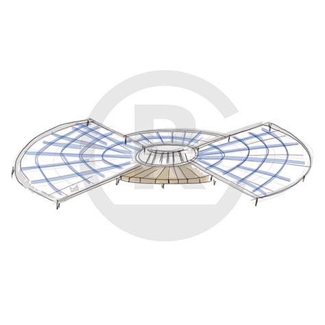"""Seating Arrangement """"Circle VII"""" (Order-No.: 4S-160626-41)"""