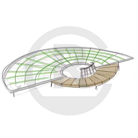 "Seating Arrangement ""Circle VIII"" (Order-No.: 4S-160626-42)"
